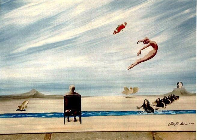 Gary art - Contemplation 2001