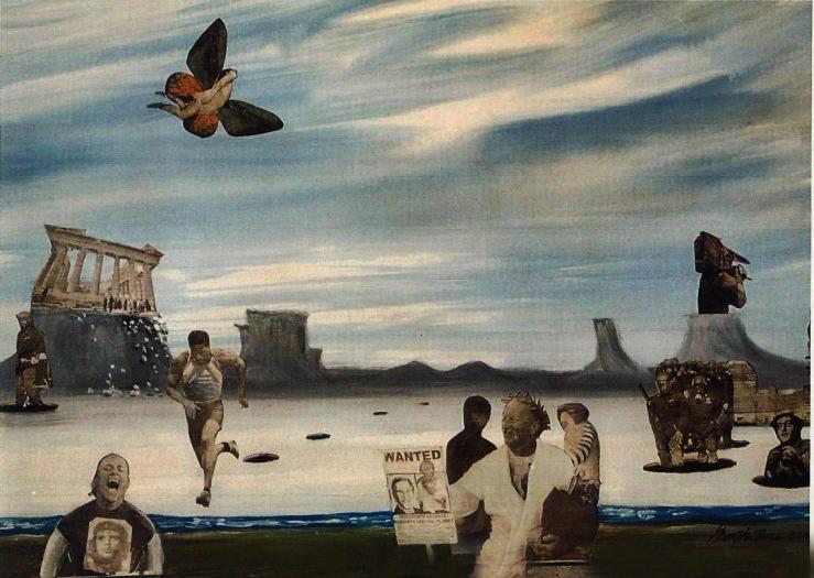 Gary art - Fall of New World Order 2001