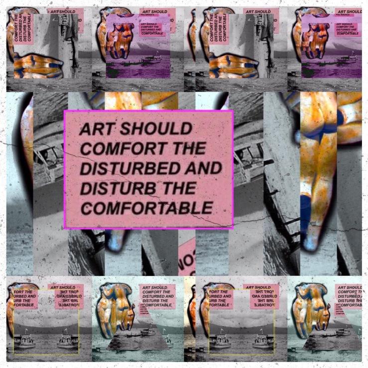 art should comfort